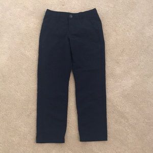 Kids navy golf pants